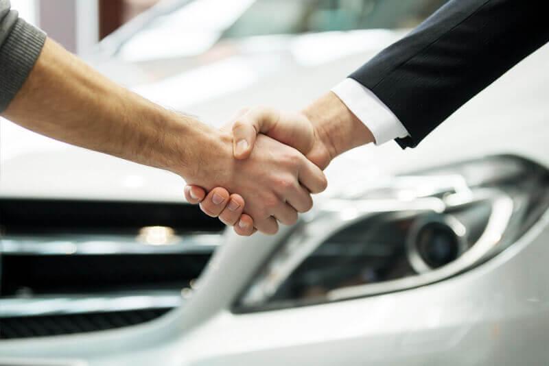 Vi säljer din bil